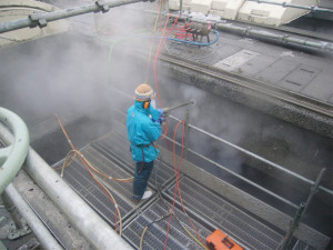 超高圧洗浄清掃
