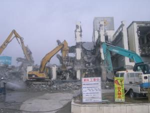 陸前高田市役所解体