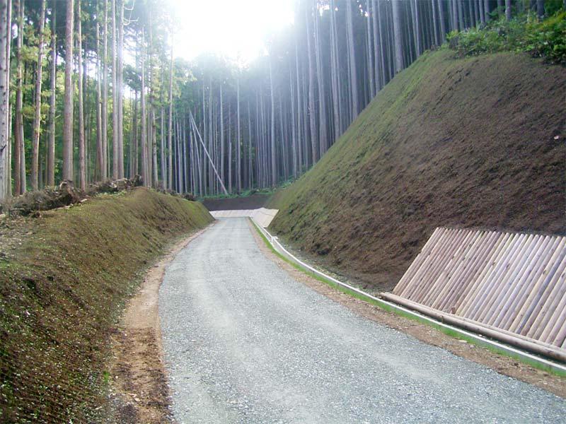森林管理道大畑線(第1工区)開設工事