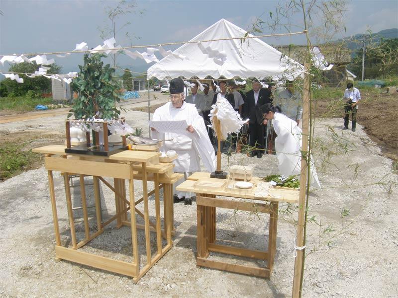 高田東中学校安全祈願祭